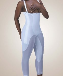 Nightingale Medical Supplies Design Veronique Zippered Rubenesque High-Back Full-Body Girdle