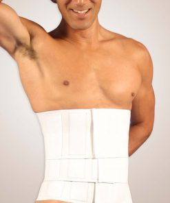 "Nightingale Medical Supplies Design Veronique Abdominal Binder 12"" Triple Panel"