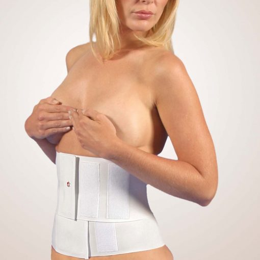 "Nightingale Medical Supplies Design Veronique Abdominal Binder 9"" Double Panel"