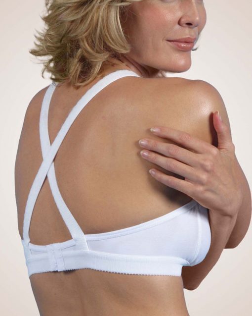 "Nightingale Medical Supplies Design Veronique Alyssandra 1"" Band Cotton Knit Bra"