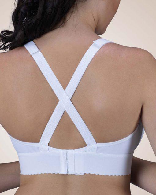 "Nightingale Medical Supplies Design Veronique Allyssandra 2"" Band Cotton Knit Bra"