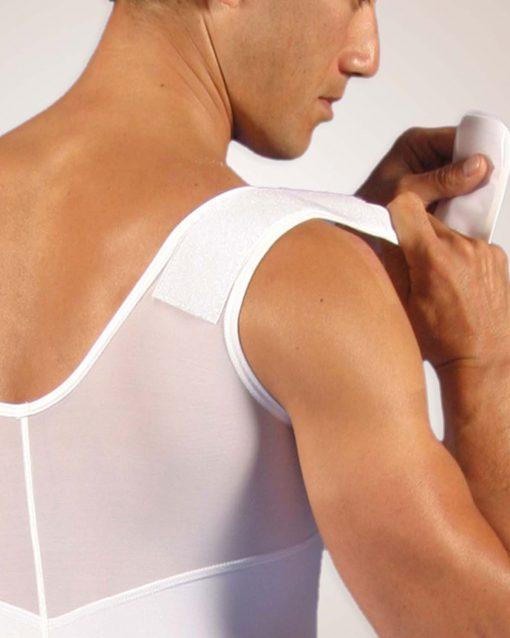 Nightingale Medical Supplies Design Veronique Male Adjustable Compression Vest