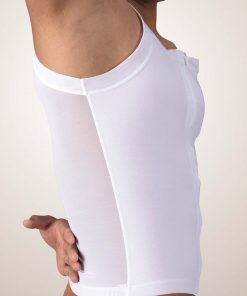 Nightingale Medical Supplies Design Veronique Male Zippered Compression Tank Top
