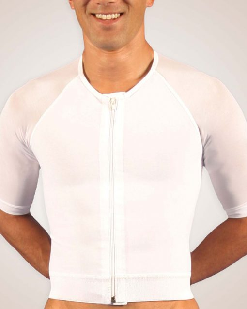 Nightingale Medical Supplies Design Veronique Male Zippered Compression Vest with Arms