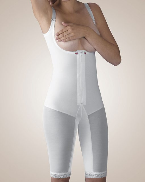 Nightingale Medical Supplies Design Veronique Zippered Above-Knee Molded Buttocks High-Back Girdle