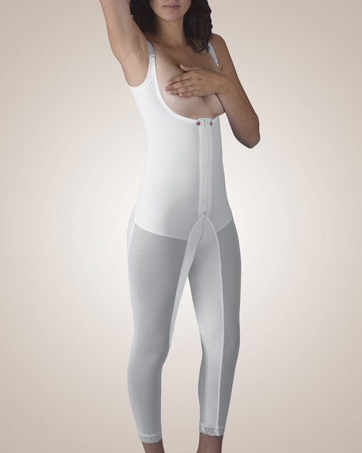Nightingale Medical Supplies Design Veronique Zippered Below-Knee Molded Buttocks High-Back Girdle