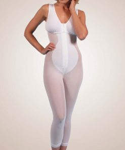 Nightingale Medical Supplies Design Veronique Zippered Below-Knee High-Back Girdle with Bra
