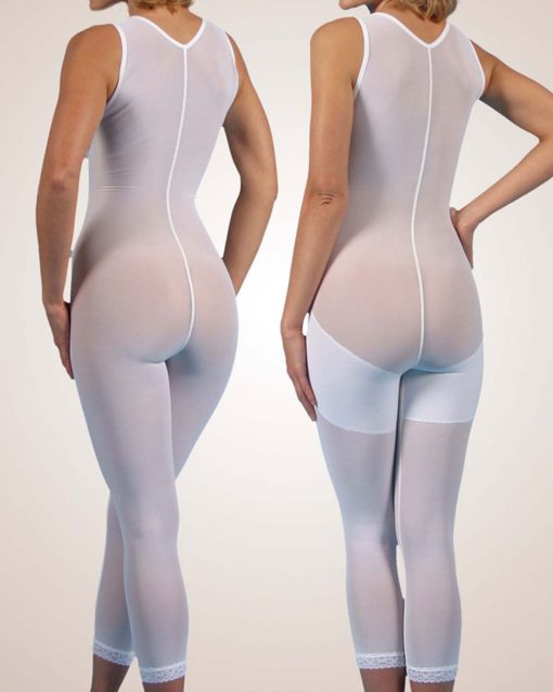 Nightingale Medical Supplies Design Veronique Full Body Girdle with Cotton Bra Recovery Kit