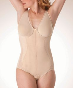 Nightingale Medical Supplies Design Veronique Mid Body Support with Wireless Contouring Bra Featuring Self-Adjusting Cups