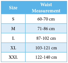 Size Chart_BSN Back Support w-pocket Actimove  Lombacare.png