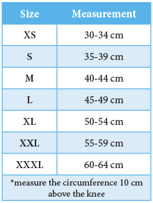 Size Chart_BSN Knee brace Actimove GenuStep.png