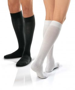 BSN Jobst ActiveWear knee high black white.jpg