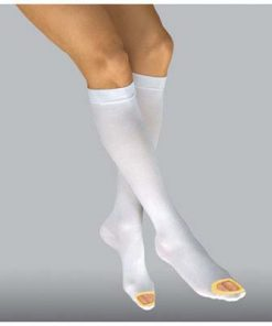 BSN Jobst AntiEmbolism knee high open toe white yellow.jpg