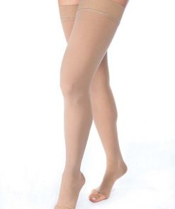 BSN Jobst Relief thigh high open toe dot band beige.jpg