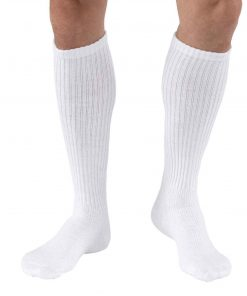 BSN Jobst Sensifoot knee high white.jpg