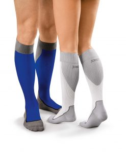 BSN Jobst Sport unisex blue white knee high.jpg