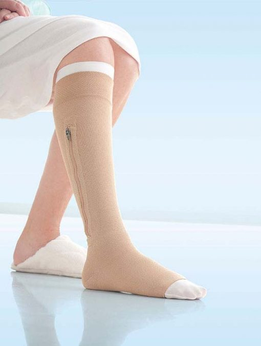 BSN Jobst UlcerCARE stocking zipper beige.jpg