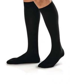 BSN Jobst forMen Compression Sock knee high closed toe black.jpg
