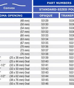 Marlen Ultra Extra One Piece Drainable Pouch Snap Lok Pouch Closure chart1.jpg