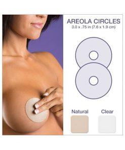 """Biodermis Epi-Derm Silicone Gel Areola Circles 3""""x.75"""""""
