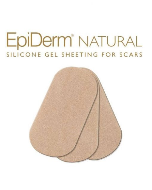 "Biodermis Epi-Derm Silicone Gel Small Strips 2.75""x1.2"""