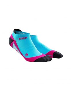 CEP Women Dynamic no show socks hawaii blue pink.jpg