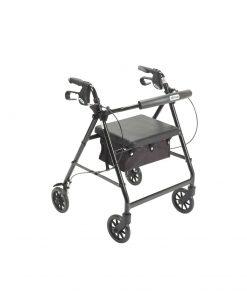 Walker Rollator 6 Wheels Aluminum Black.jpg
