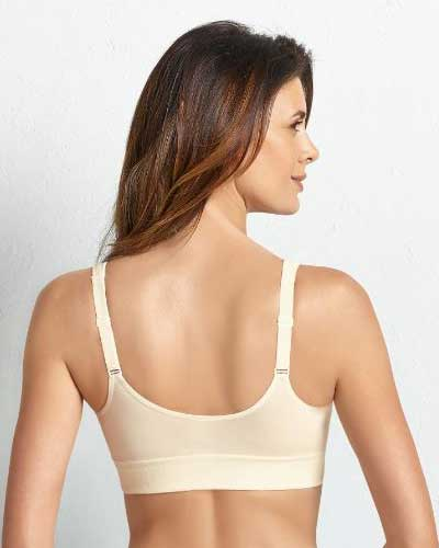 5322X Salvia - Front Closure Wire-free Mastectomy Bra #5322X