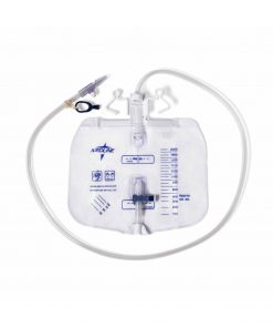 Medline Urinary Drain Bag with Anti Reflux and Slide Tap 2000ml (1 Each)