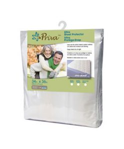 Priva Ultra Waterproof Sheet Protector With Tuck In Flaps (1 Each)