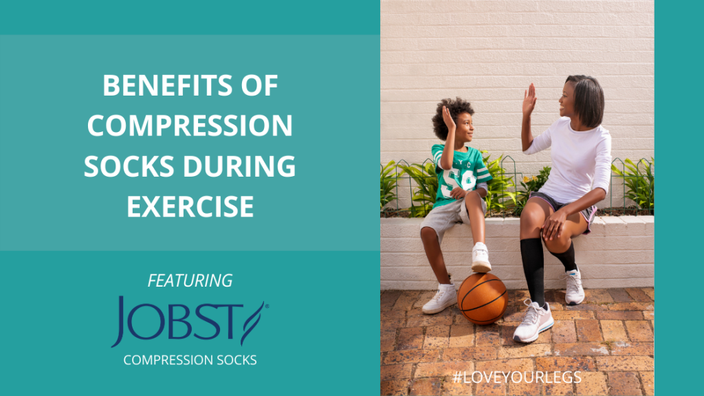 Jobst_Benefits of Compression Socks During Exercise_Love Your Legs Sale