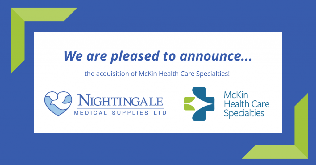 Nightingale Medical Supplies Acquires McKin Health Care Specialties