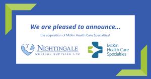 Nightingale Medical Supplies Acquires McKin Health Care Specialties
